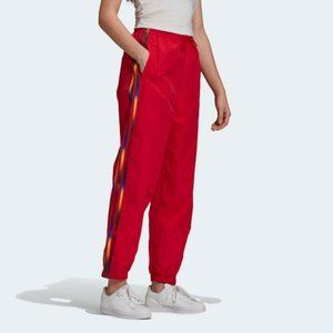 Adidas GJ7718 Adicolor Track Pants Scarlet Red